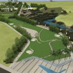 Новый городской парк в Анталии, район Коньяалты