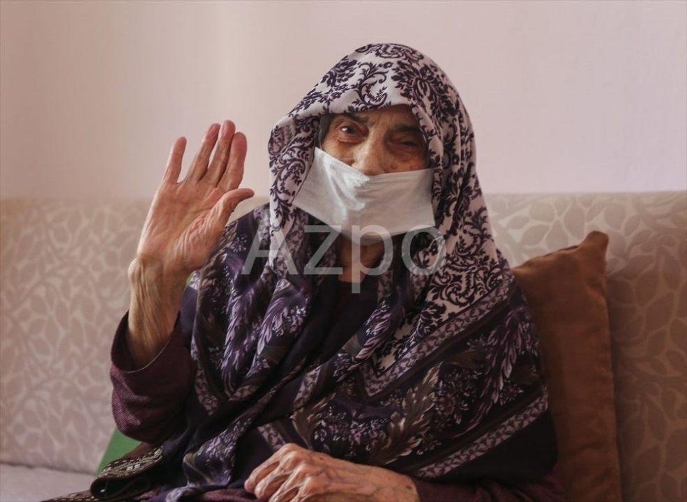 107-летняя турчанка вылечилась от Корона вируса