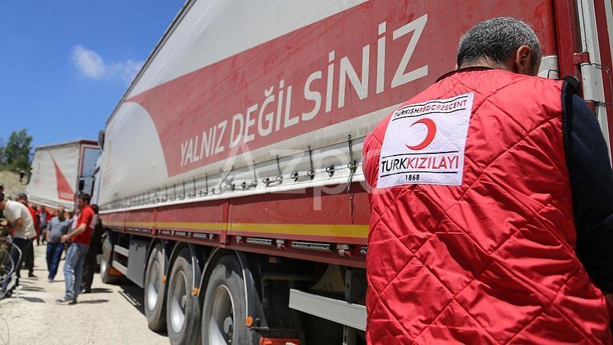Турецкий Красный полумесяц окажет помощь в священный месяц Рамазан
