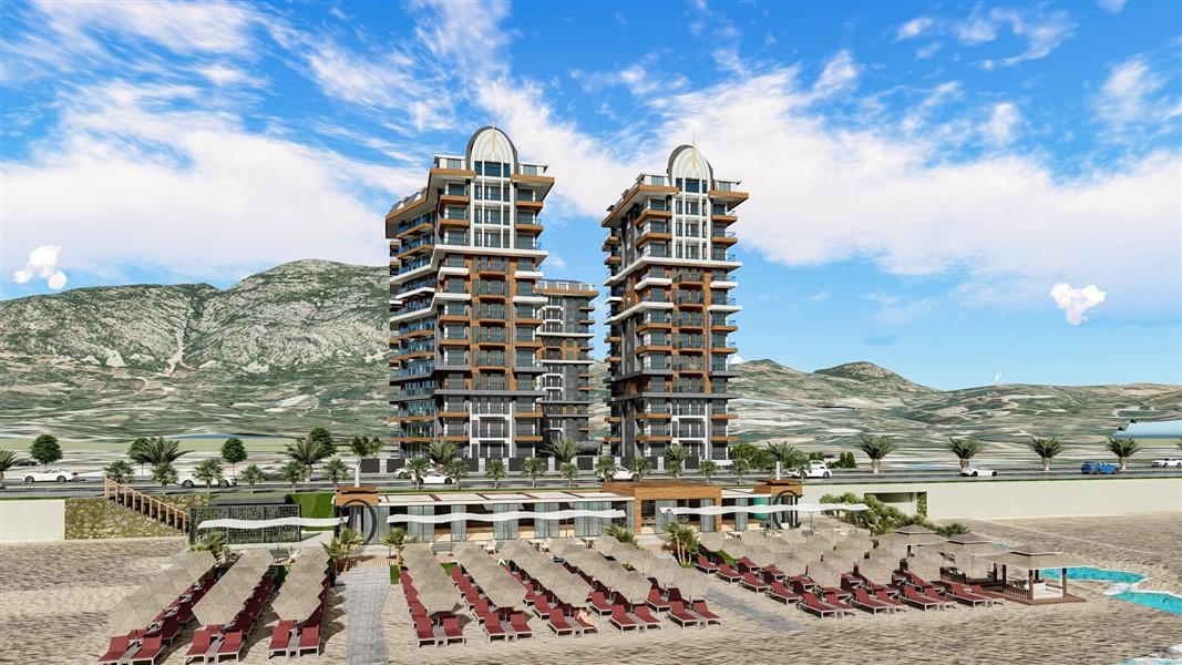 Элитные квартиры в комплексе Premium класса на первой береговой линии Средиземного моря - фото 8