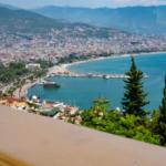 На карте Турции Алания стала синей