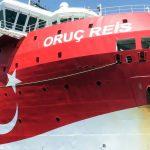 В Турции объявили тендер на услуги сторожевого корабля для судна Oruç Reis