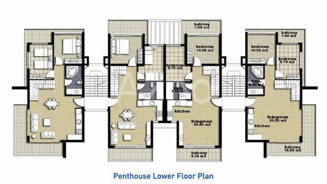 Апартаменты и пентхаусы к новом комплексе Белек - Фото 26