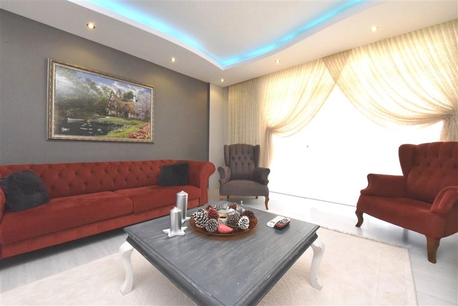 Просторный пентхаус 3+1 с мебелью в Джикджилли - Фото 23