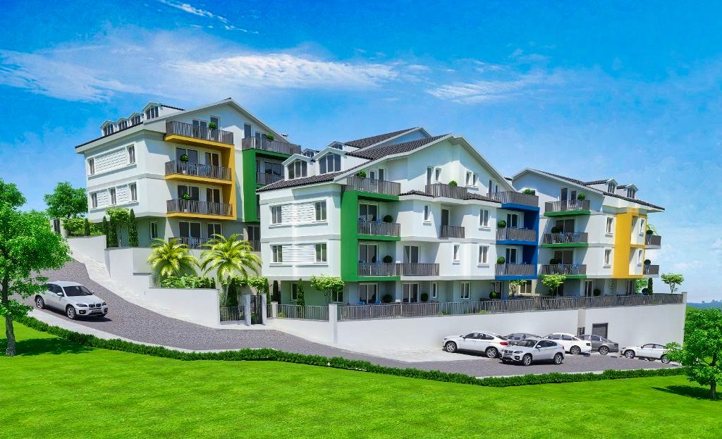 Двухкомнатные квартиры в строящемся комплексе Фетхие - Фото 1