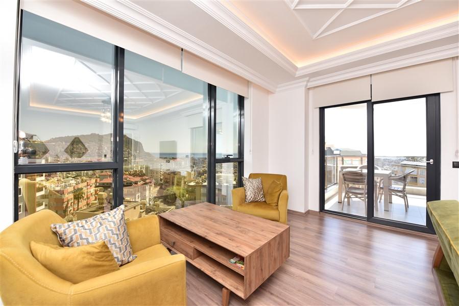 Роскошная меблированная квартира 3+1 в центральном районе Аланьи - Фото 11