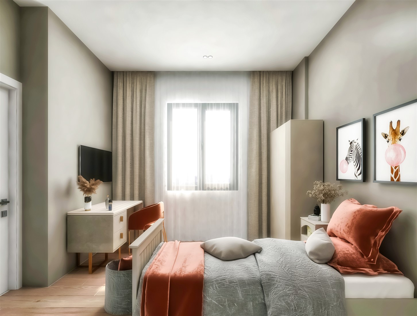 Современные квартиры в элитном комплексе Антальи - Фото 77