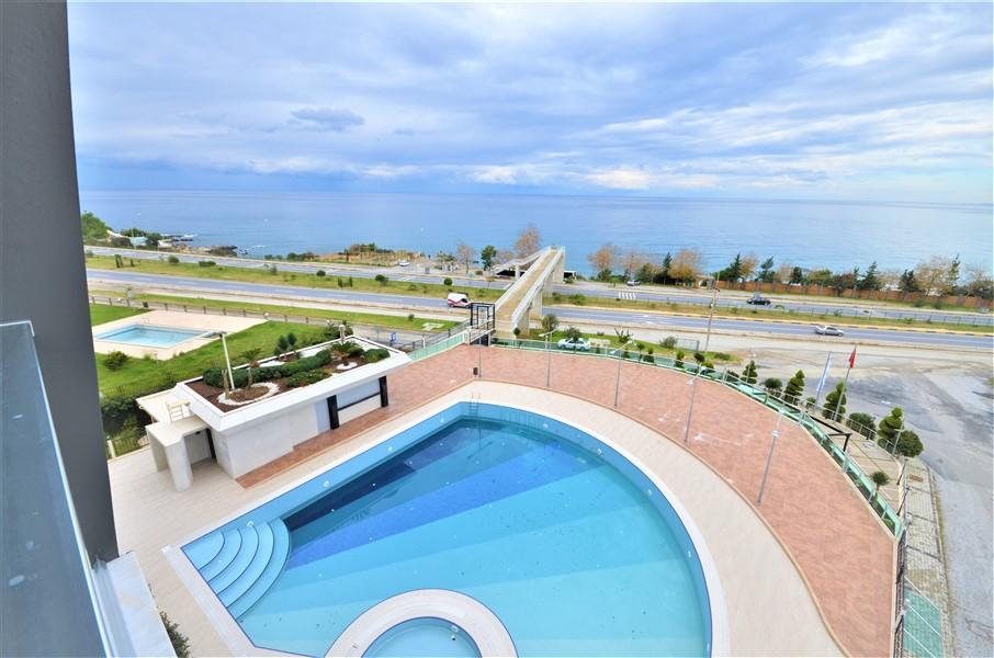 Меблированная квартира 2+1 с видом на Средиземное море - Фото 41