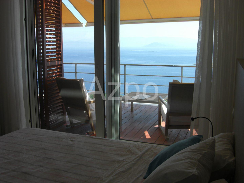 Квартира 2+1 с панорамным видом Бодрум - Фото 4