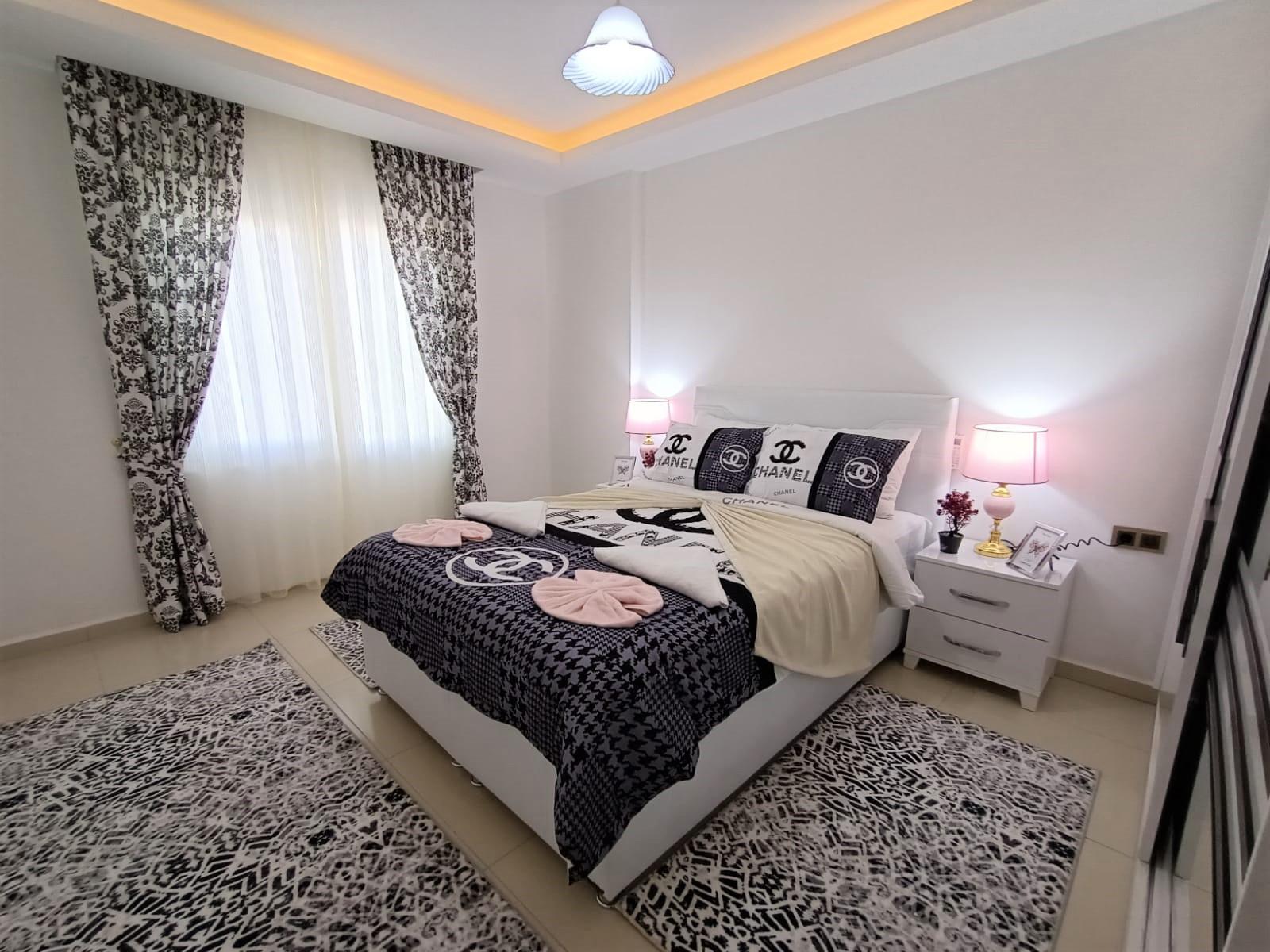 Двухкомнатная квартира с мебелью в районе Махмутлар - Фото 13