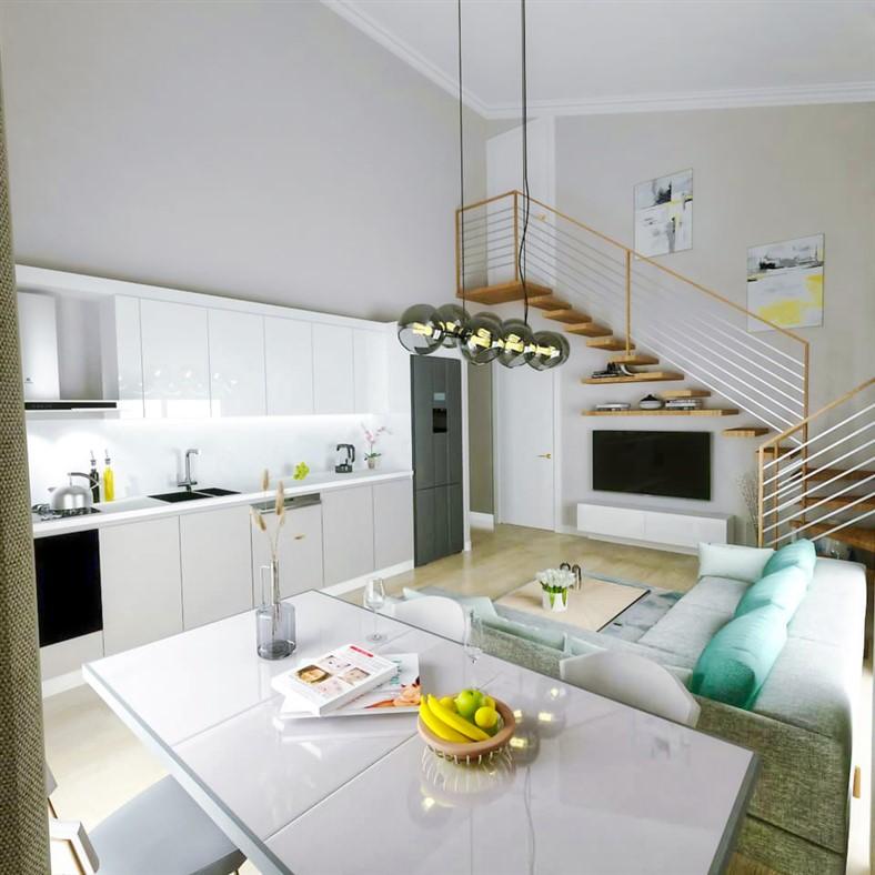 Двухкомнатные квартиры в новом комплексе Фетхие - Фото 4