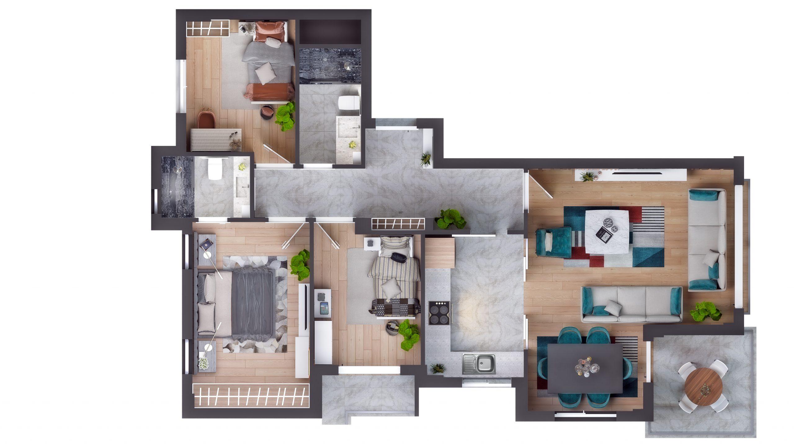 Современные квартиры в элитном комплексе Антальи - Фото 67