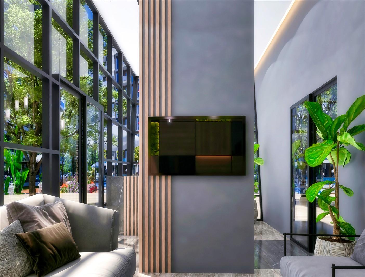 Современные квартиры в элитном комплексе Антальи - Фото 19