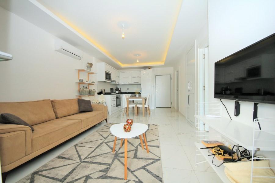Меблированная квартира 1+1 в жилом комплексе с инфраструктурой - Фото 14