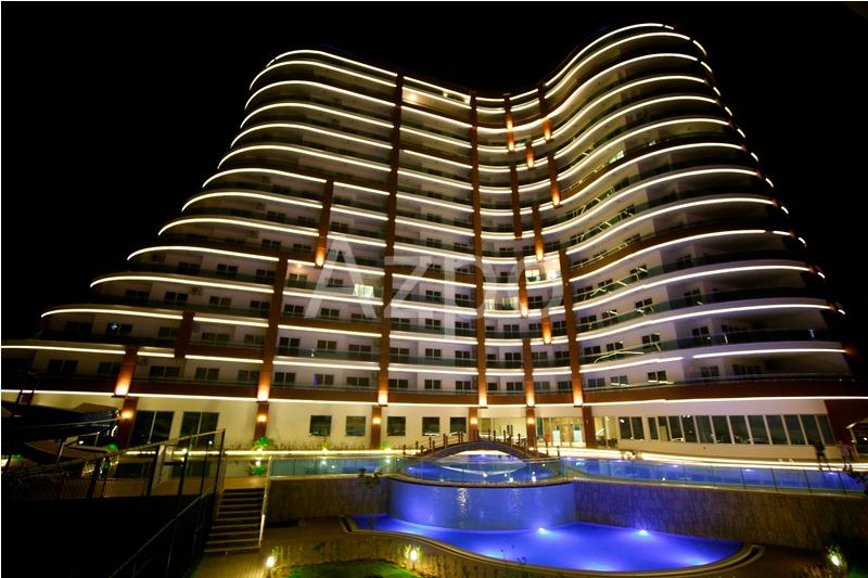 Двухкомнатная квартира в комплексе LUX класса Махмутлар - Фото 9