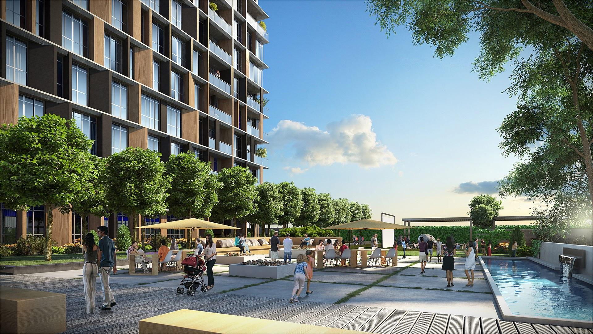 Трёхкомнатные квартиры в готовом проекте Стамбул