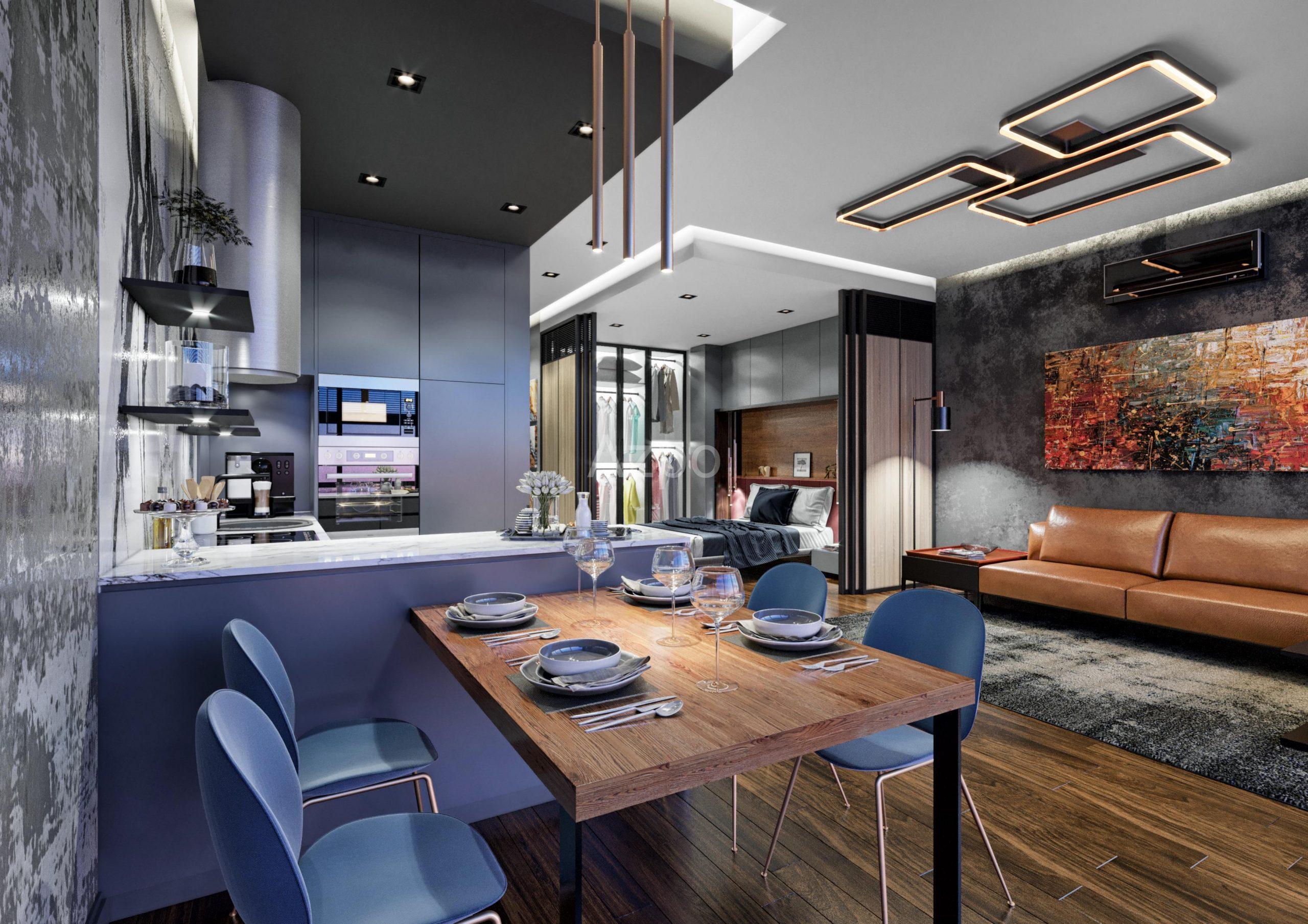 Апартаменты разных планировок в  комплексе - Фото 8