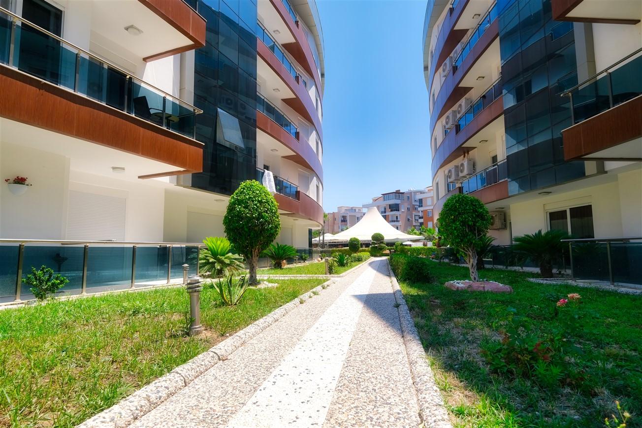 Двухкомнатная квартира с мебелью в элитном комплексе района Коньяалты - Фото 17