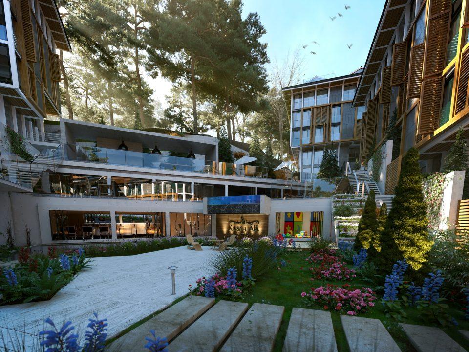 Новый комплекс с видом на пролив Босфор - Фото 4