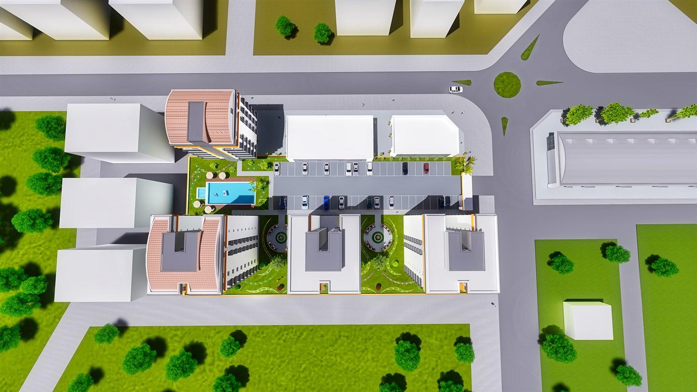 Квартиры 2+1 планировкой закрытого типа в строящемся комплексе - Фото 11