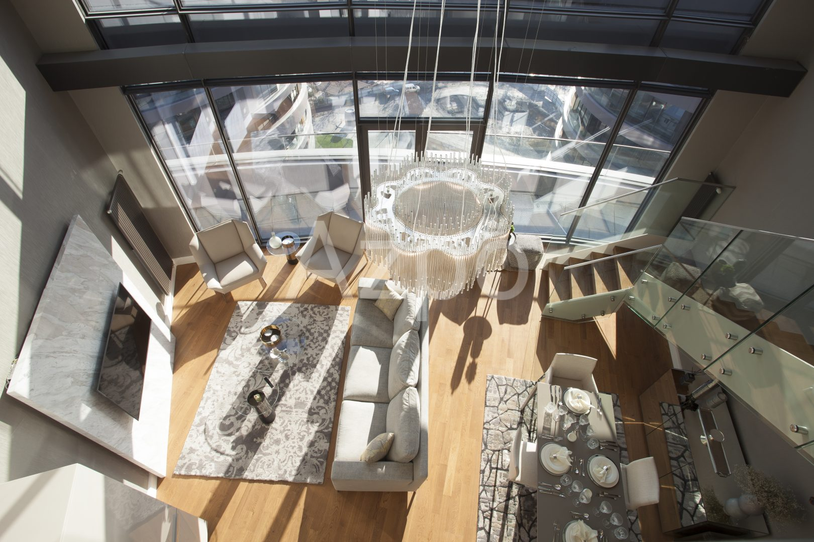Роскошные квартиры в готовом проекте жилого комплекса в Стамбуле - Фото 6