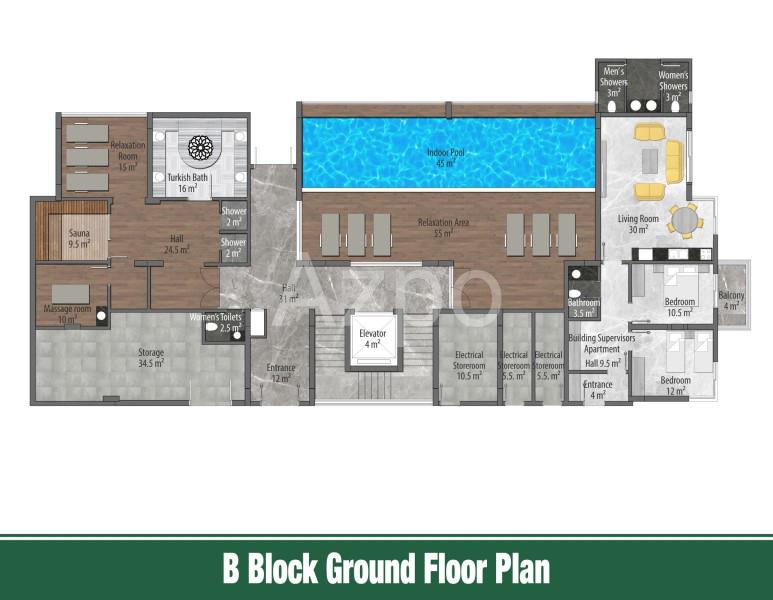 Квартиры и пентхаусы в новом комплексе Оба - Фото 17