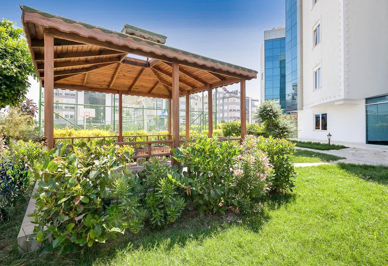 Двухкомнатная квартира с мебелью в элитном комплексе района Коньяалты - Фото 42