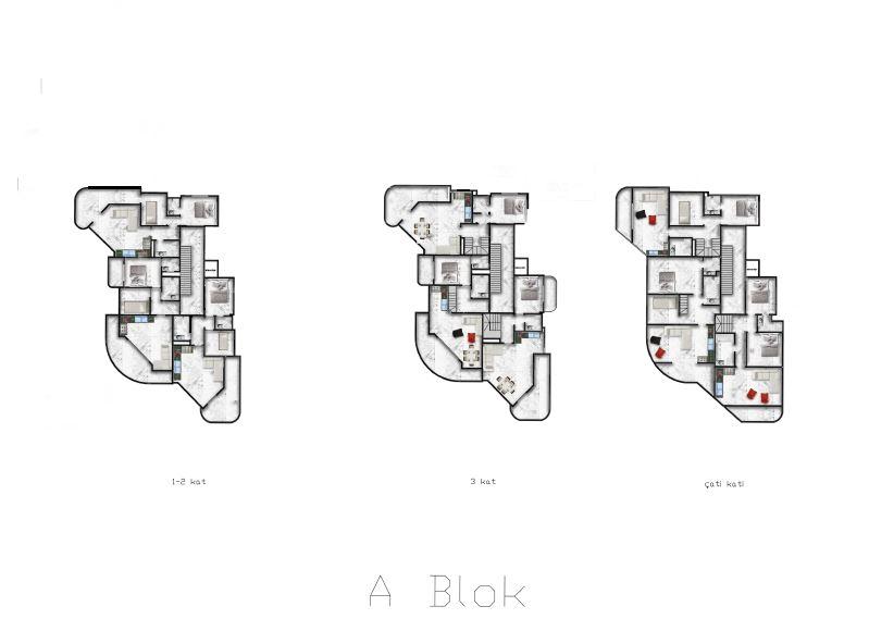 Роскошные видовые квартиры в Махмутларе - Фото 30
