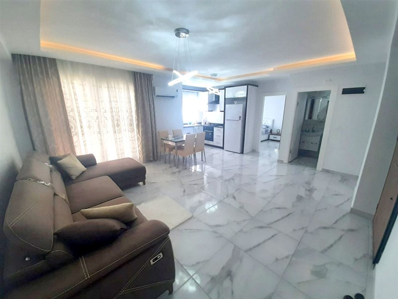 Двухкомнатная квартира с мебелью в центре Махмутлара - Фото 8