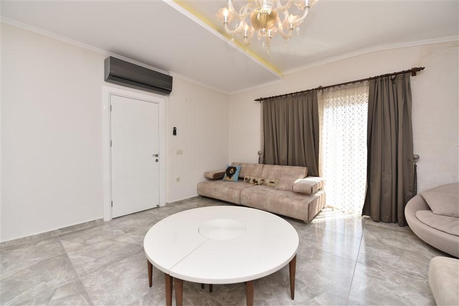 Просторный двухуровневый пентхаус 4+1 с мебелью в районе Джикджилли - Фото 30