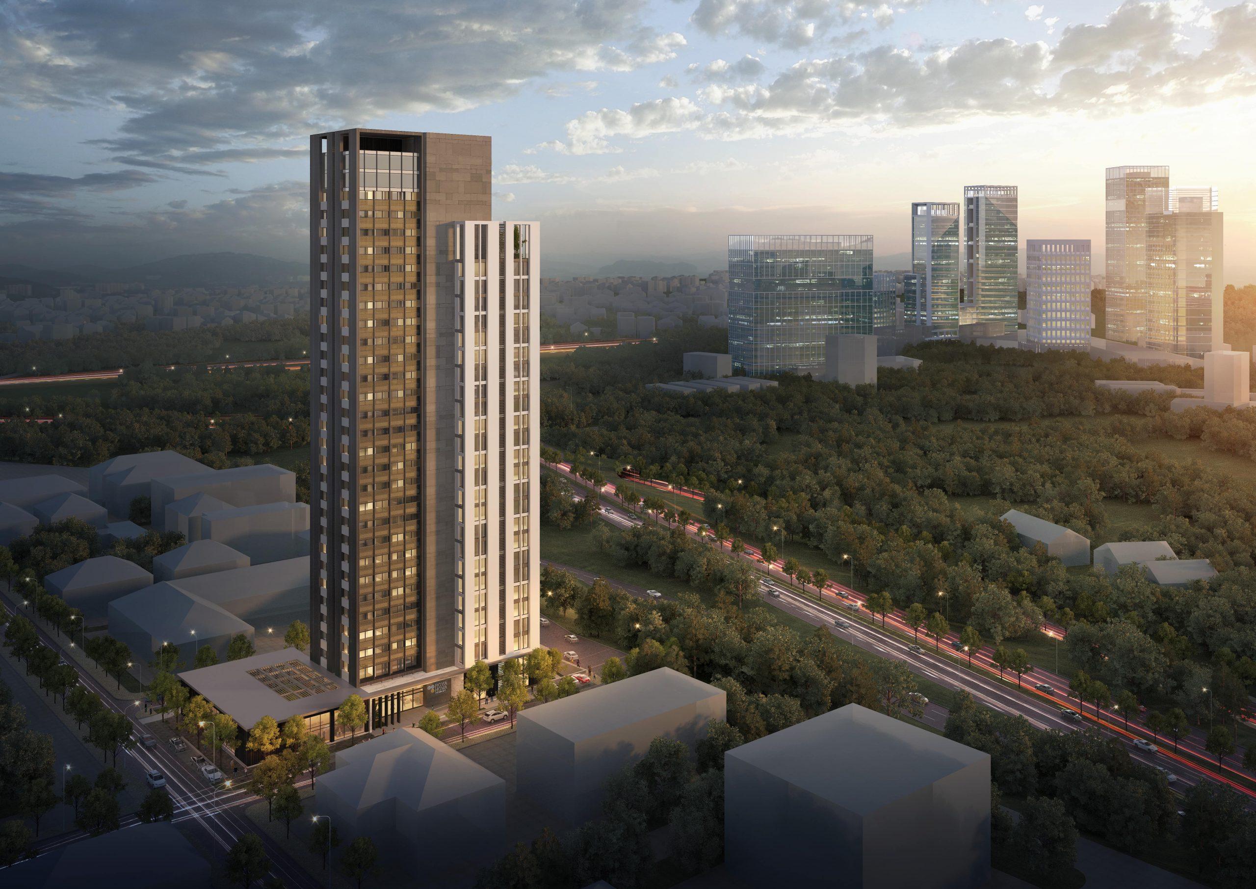 Новые квартиры в деловом районе Умрание Стамбул - Фото 1