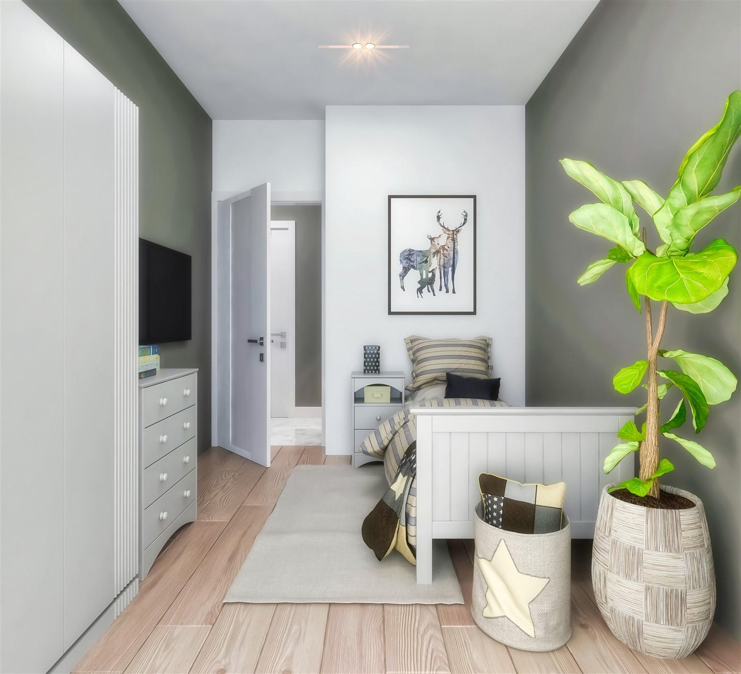 Современные квартиры в элитном комплексе Антальи - Фото 82