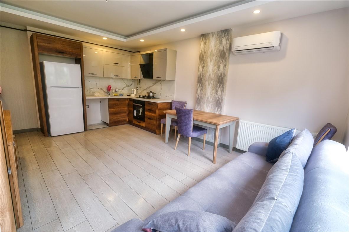 Меблированная квартира 1+1 в Анталье - Фото 14