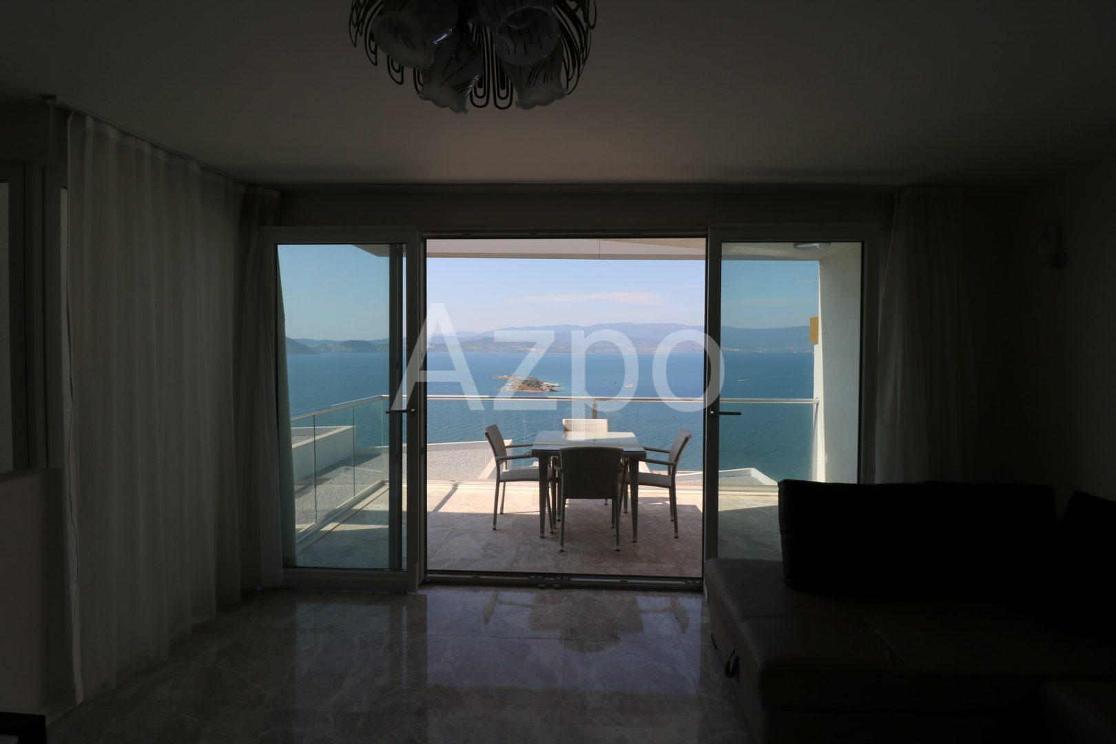 Квартира дуплекс в Бодруме с видом на море - Фото 13