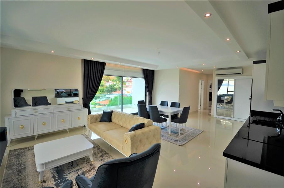 Меблированная квартира 2+1 с видом на Средиземное море - Фото 26