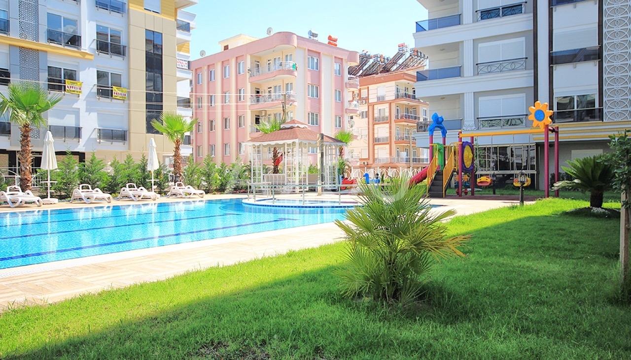 Квартиры 1+1 и 2+1 в комплексе в районе Хурма Коньяалты Анталия - Фото 2