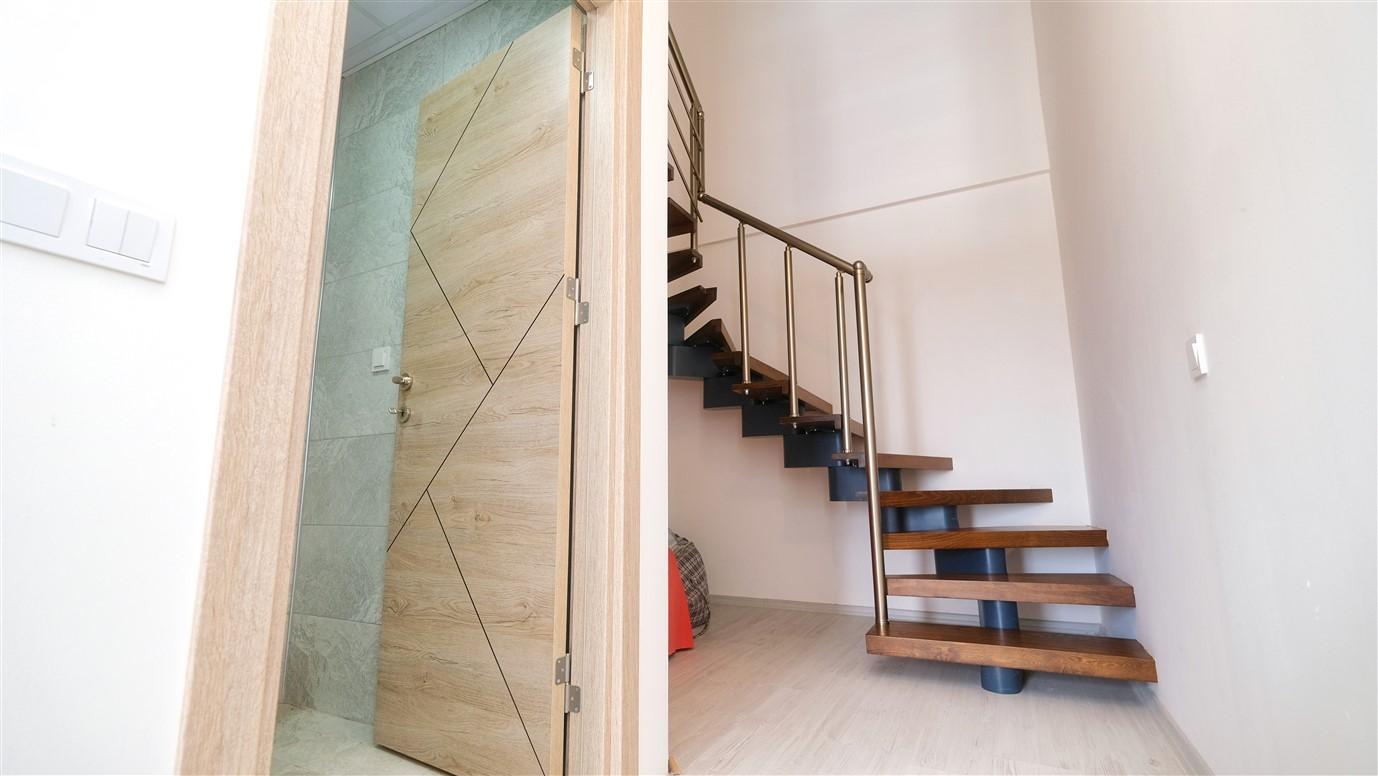 Двухэтажный дуплекс 3+1 в Анталье - Фото 8
