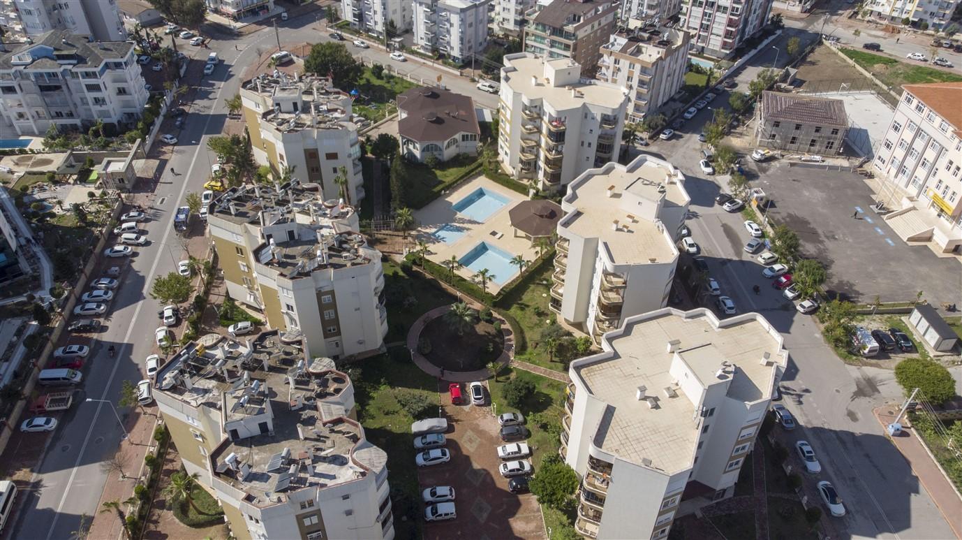 Трёхкомнатная квартира в микрорайоне Лиман Анталья - Фото 1