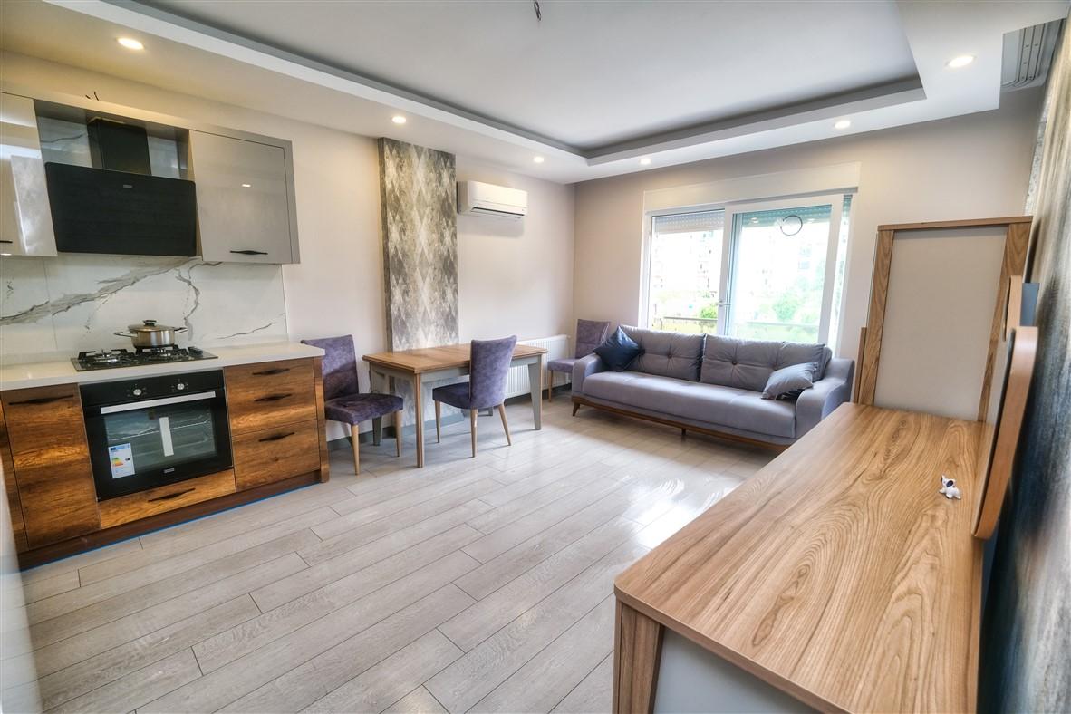 Меблированная квартира 1+1 в Анталье - Фото 13