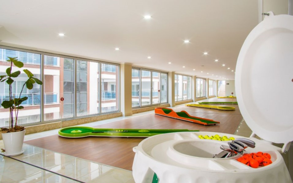 Меблированная квартира 2+1 в комплексе с инфраструктурой отельного типа. - Фото 9
