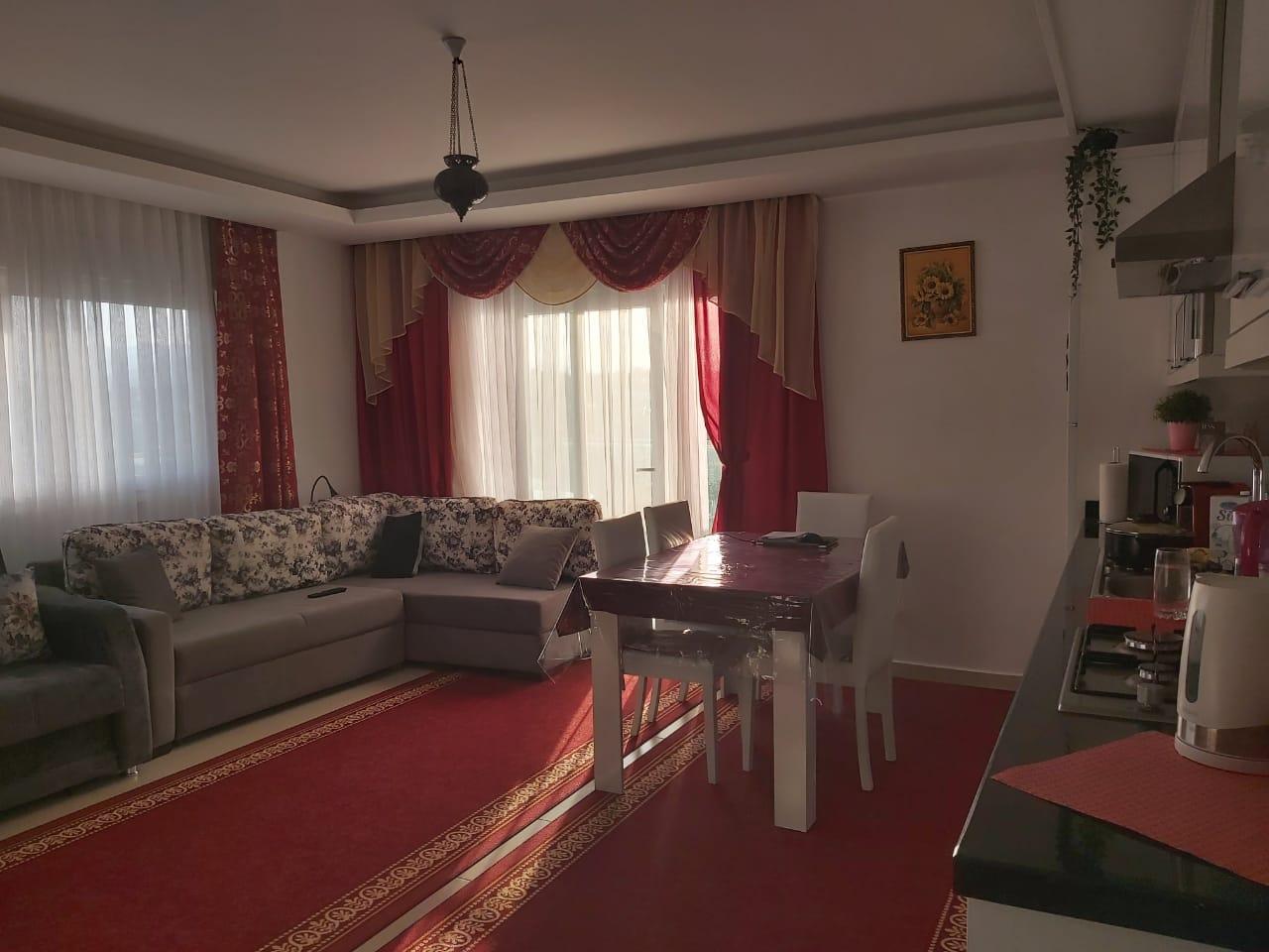 Меблированная квартира 1+1 в районе Авсаллар - Фото 11