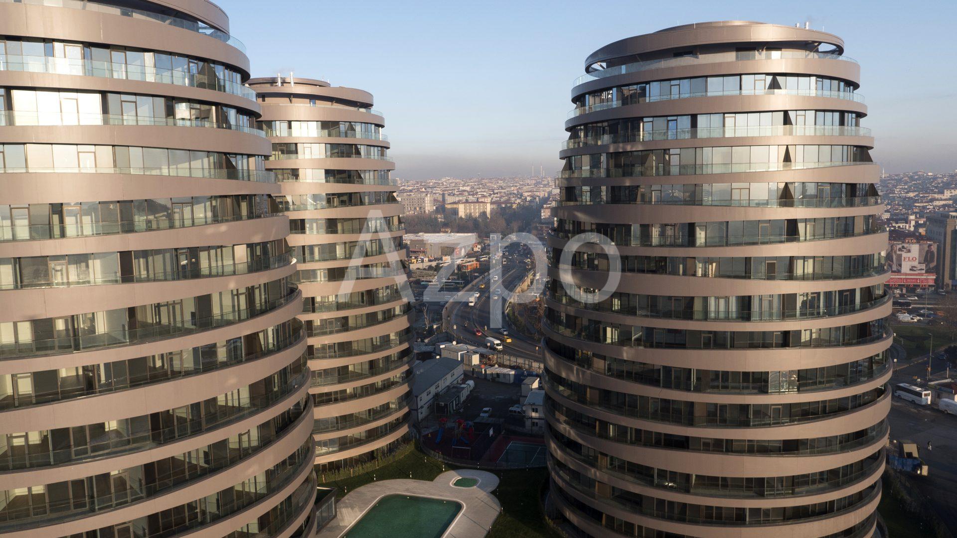 Роскошные квартиры в готовом проекте жилого комплекса в Стамбуле - Фото 1