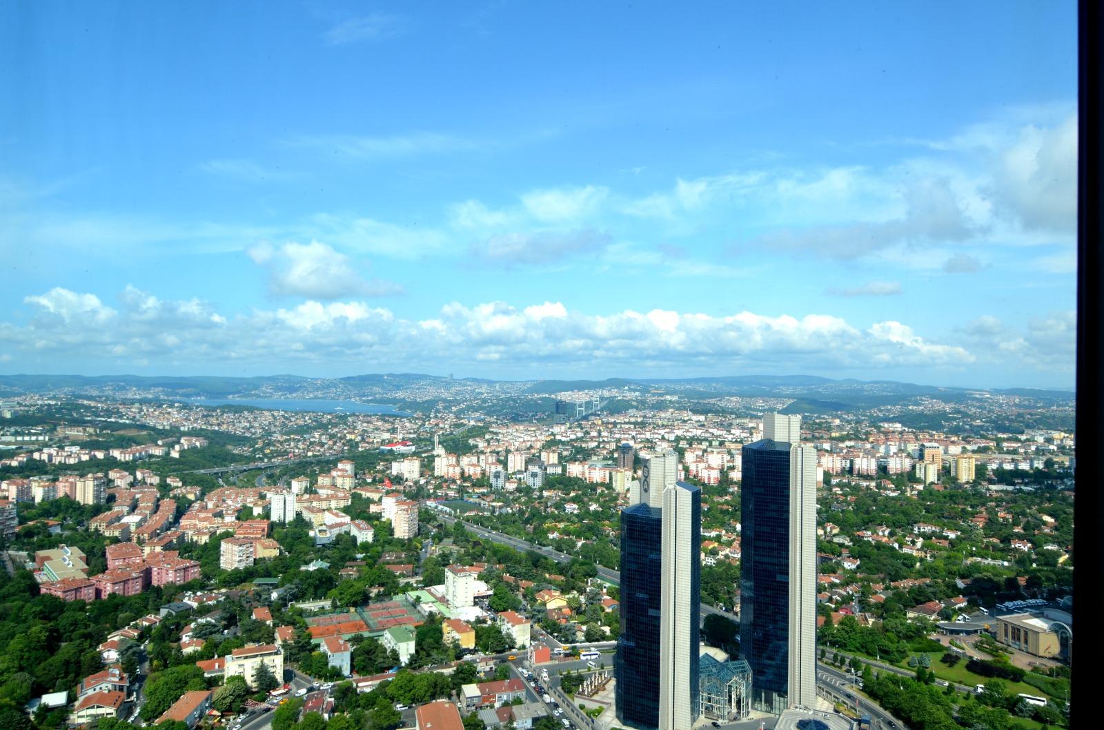 Элитная квартира в  высоком небоскребе Стамбула - Фото 10
