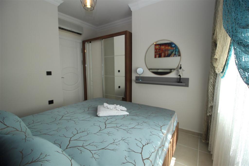 Двухкомнатная квартира с мебелью в Махмутларе - Фото 12