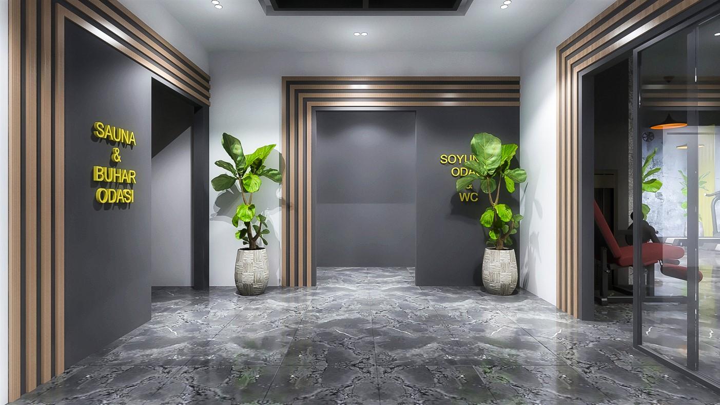 Современные квартиры в элитном комплексе Антальи - Фото 20