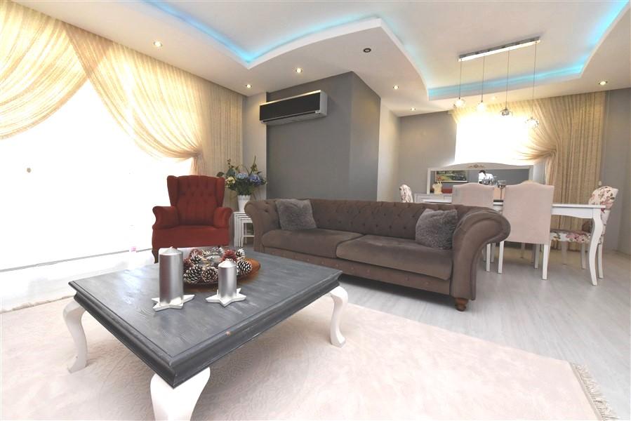 Просторный пентхаус 3+1 с мебелью в Джикджилли - Фото 17