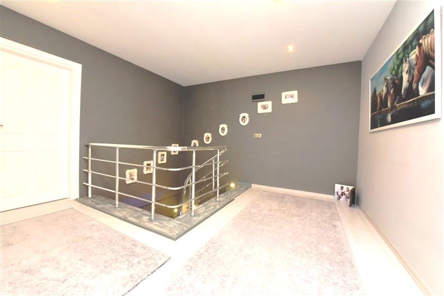 Просторный пентхаус 3+1 с мебелью в Джикджилли - Фото 44