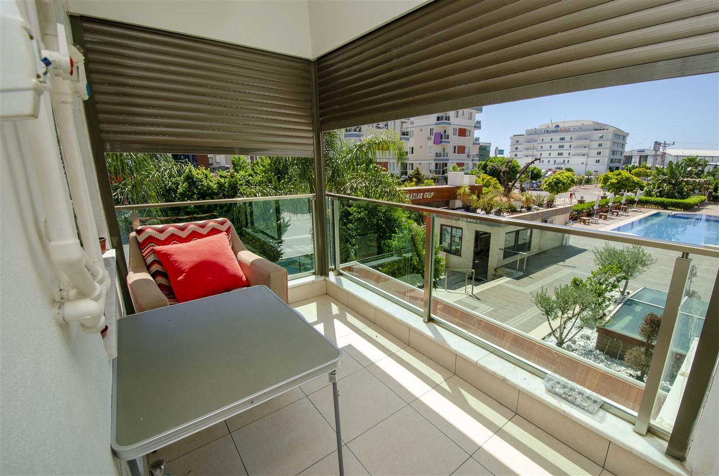 Меблированная квартира 1+1 в районе Коньяалты - Фото 25
