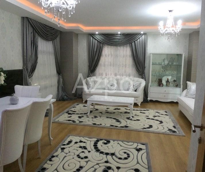Квартира 3+1 с мебелью в центре района Лара Анталия - Фото 1