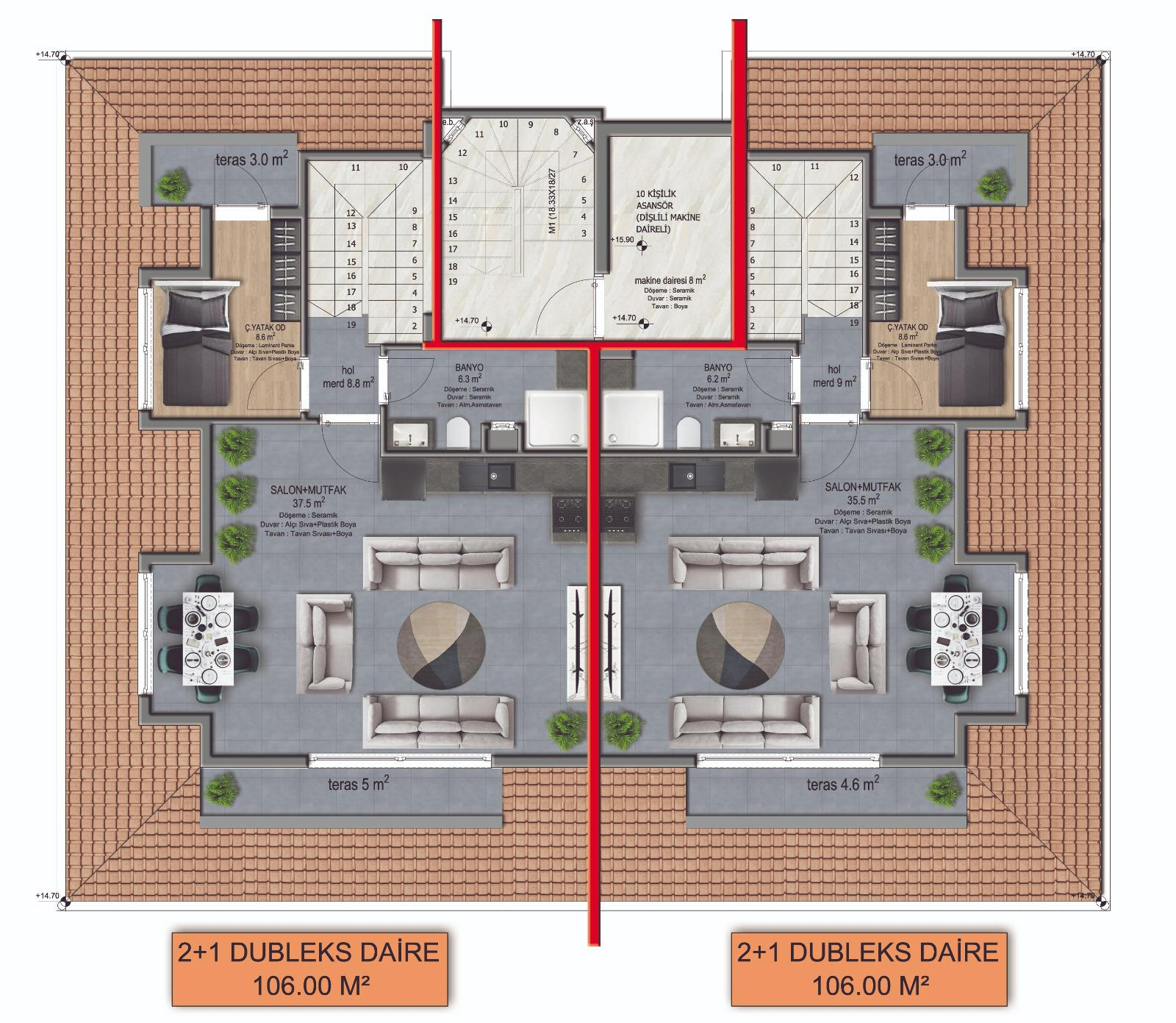 Новые квартиры в центре Аланьи - Фото 13